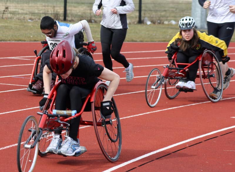 Lottie 5k race for wheelchair athletes and runners