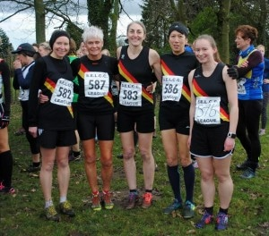 Rochdale Harriers Ladies at Chorley XC (c) John Mayall