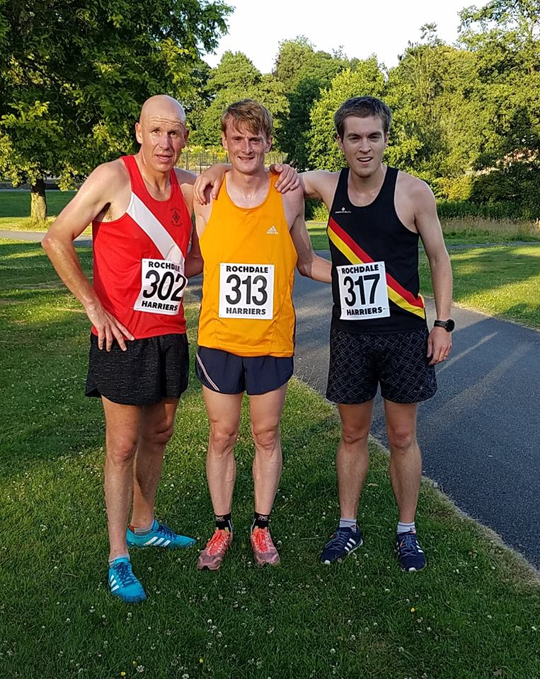 top 3 mens rochdale 10k road race